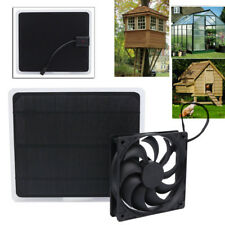 Solar Powered Fan Mini Exhaust Fan for Dog House Greenhouse Pheasantry RV Roof