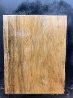"#43 BLACK LIMBA guitar body blank 2 piece tonewood luthier 19"" x 14"" 7lb 4oz"