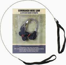 Stainless Steel Commando Wire Saw W/ Nylon Hand Straps