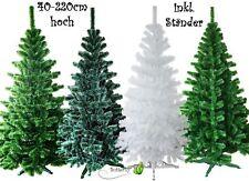 40-220cm Weihnachtsbaum künstlicher Tannenbaum Kunststoff Christbaum Kunstbaum