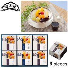 EITARO Japanese Confectionery WAGASHI ANMITSU (6 pieces) Japan sweets 091807