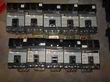 Square D FA34040 3pole 40amp 480v circuit breaker Iline Panel board warranty!