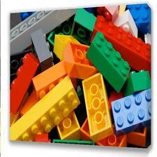 Lego Bricks Kids bedroom canvas picture II
