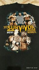 "2010 WWE ""SURVIVOR SERIES""  T-Shirt RANDY ORTON vs WADE BARRETT"