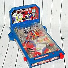 Disney Store Buzz Lightyear Battle For The Galaxy Table Top Pinball Machine Game