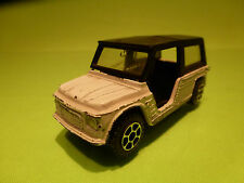 POLISTIL E27 CITROEN MEHARI - WHITE - 1:43 - RARE SELTEN - GOOD CONDITION