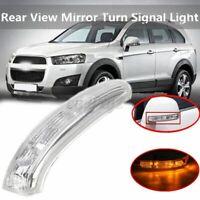 Specchio Retrovisore Destro Indicato Luce Per Chevrolet Captiva 07-16 Plastica