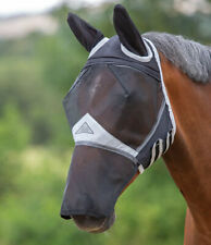 GEE TAC FLY MASK FACE EYE CLEARANCE FLY RUG  VEIL UV RATED WHITE REFLECTS  SIZES