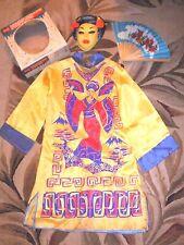 Vintage Halco Masquerade Halloween Costume CHINESE PRINCESS sz M 8-10 yrs In Box