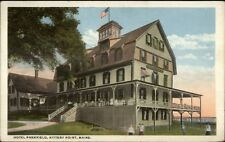 Kittery Point ME Hotel Parkfield c1920 Postcard