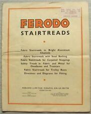 More details for ferodo stairtreads omnibuses tramcars trolley buses sales brochure 1936-37