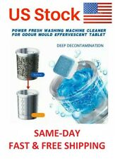 10PCs Multi-functional Washing Machine Cleaner Effervescent Tablet