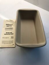 THE PAMPERED CHEF STONEWARE LOAF PAN BRAND NEW