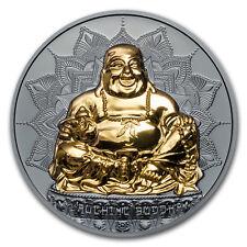 2017 Palau 2 oz Silver $10 Laughing Buddha Coin