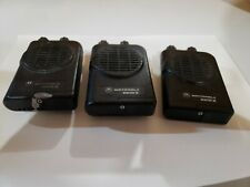 Motorola Minitor Iv (4) Uhf Pager Base Monitor Amplified Charger Antenna Bundle