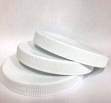 3 - REPLACEMENT LIDS W/LINERS for Golden Harvest Square CANISTER Jars FAST SHIP