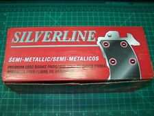 SILVERLINE MD219 Semi-Metallic Premium Disc Brake Pads for Chrysler, Dodge FRONT