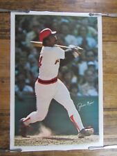 Vintage 1978 JIM RICE Boston Red Sox Slugger Colonial Provision Co.Poster (New)