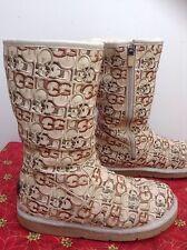 UGG AUSTRALIA Women's Monogram winter boots/ RARE/ Sz. 8