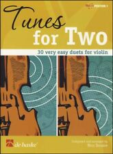 Tunes for Two 30 Very Easy Duets for Violin Sheet Music Book Position 1