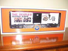"""Beatles""""O""""Gauge Trains Lionel Beatles 2nd Album Box Car Lionel Trains"""