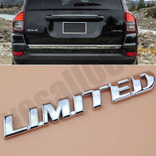 3D Chrome Metal Car Motorcycle Badge Sticker Luxury Emblem Decals for LIMITED