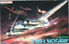 Dragon DML 1:48 Master Series Ju-88 G-6 Nachtjager Plastic Model Kit #5509U