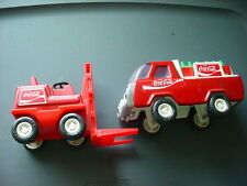 VINTAGE COCA-COLA BUDDY L DELIVERY TRUCK AND FORKLIFT FREE USA SHIPPING