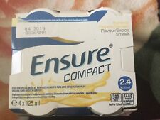 ensure compact banana 4 bottles /125 ml (exp. 04/2019) + free delivery around UK