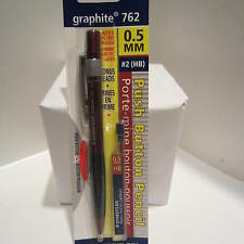 Staedtler Graphite 762 RED Mechanical Pencil, 0.5 mm, Spare Lead Tube-Blister