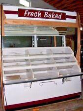 "72"" Bagel, Roll, Bread, Baked Goods Merchandiser Case - New -Old Stock!"