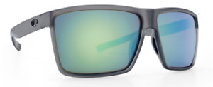 COSTA DEL MAR RINCON POLARIZED RIN156 OGMGLP SUNGLASSES SMOKE/GREEN GLASS 580G