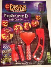 Pumpkin masters pumpkin carving kit US Seller Free Shipping