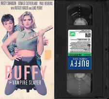 BUFFY THE VAMPIRE SLAYER - 1992 Comedy, Kristy Swanson, Donald Sutherland VHS