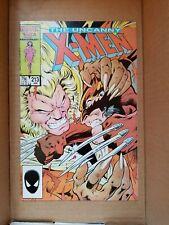 The Uncanny X-Men #213 Wolverine vs Sabertooth 1986 NM condition