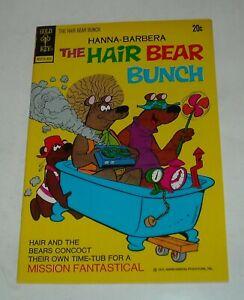 HANNA BARBERA The HAIR BEAR BUNCH # 5 GOLD KEY COMICS 1973 WESTERN FILE COPY