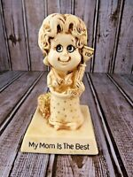 Russ Berrie & Co 1976 My Mom is the Best Figurine Collectible Vintage #9233