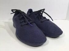 Allbirds Navy Blue With Blue Soles Merino Wool Runners US Women's Size 9