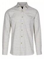Mens Viyella Cotton/Wool Shirt Size 15 38cm RRP£69.95 {N43}
