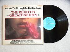 "LP ARTHUR FIEDLER AND THE BOSTON POPS ""Play Beatles' Greatest Hits"" RCA CAMDEN µ"