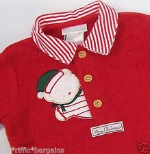 Baby Boy 3 Piece Christmas Outfit Size 3 6 Months