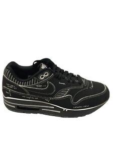 Nike Air Max 1 Sketch To Self Tinker Black CJ4286-001 Size Men's 4.5 / Women's 6