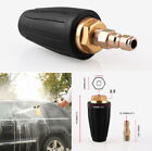 """1/4"""" BSP High Pressure Washer Rotating Turbo Nozzle 3600PSI Washing Tool Parts photo"""