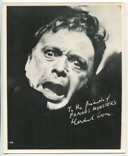 Famous Monsters Of Filmland 1962 Original Promo Photo Forrest J Ackemran J2301