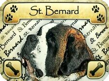 St. Bernard Photo Fridge Magnet