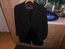 """Vtg Moss Bros Black Morning Dress Tailcoat size 40"""""""