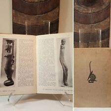WAS $150 - Tribal African Art book - RARE YEAR 1950 Mask Figure Sculpture Statue
