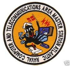 NAVAL COMPUTER AND TELECOMMUNICATIONS AREA MASTER STATION ATLANTIC PATCH      Y
