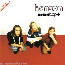 HANSON - MMMBop (UK Ltd Ed 4 Tk CD Single Pt 2/Poster)