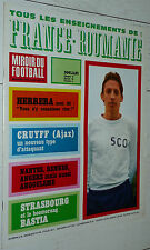 MIROIR FOOTBALL N°92 1967 ANGOULEME RENNES SEC BASTIA REAL INTER AJAX SERVETTE